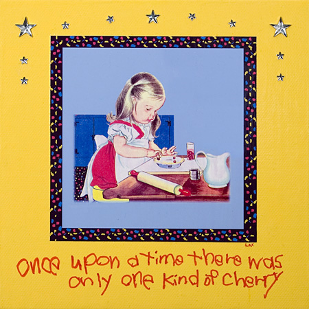 One kind of cherry